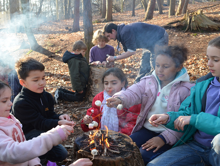 Painshill - Wild Easter Camp