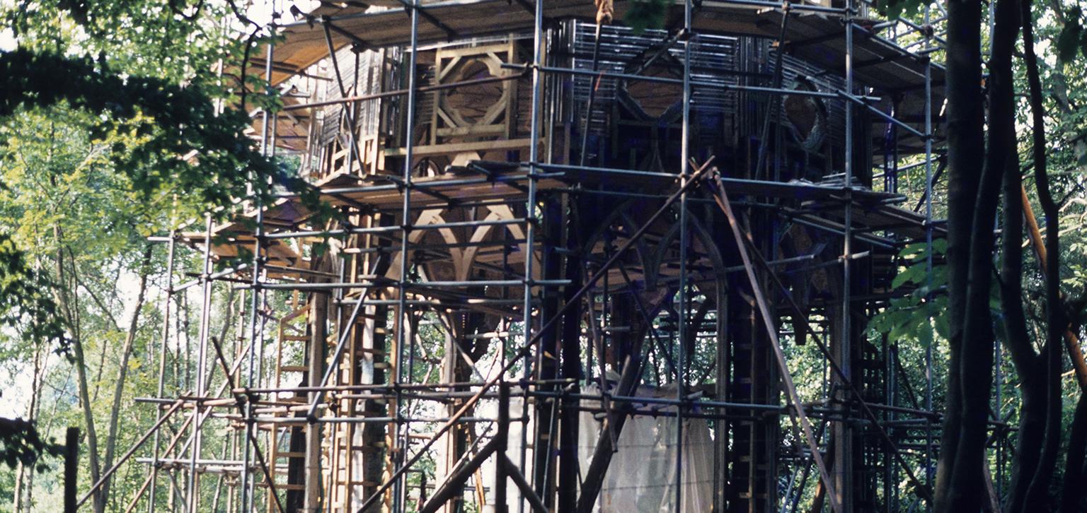 Gothic Temple ruin