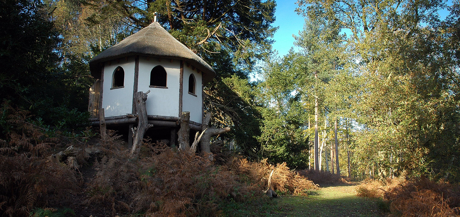 The Hermitage in the bracken