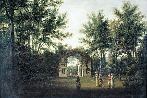 Painshill Mausoleum - Hannan 1773