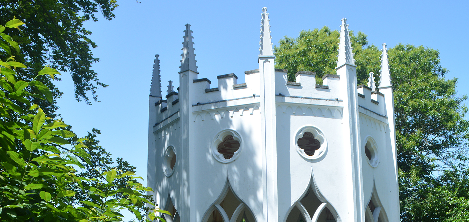 Spires on Gothic Temple