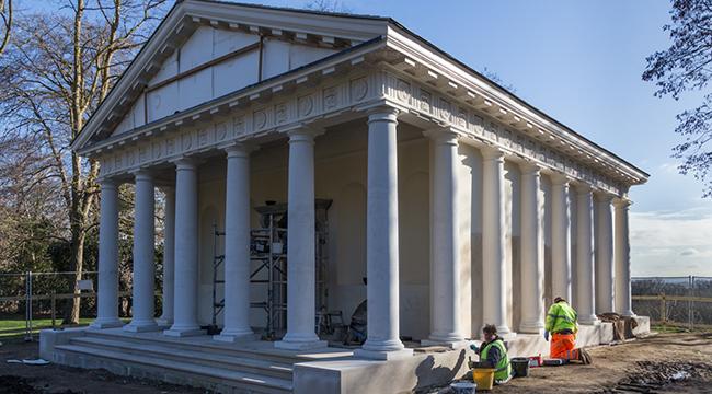 Restoration Temple of Bacchus timeline