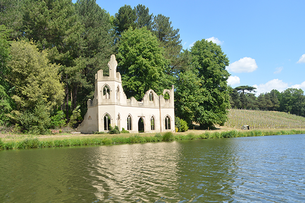 Painshill Ruined Abbey - Now