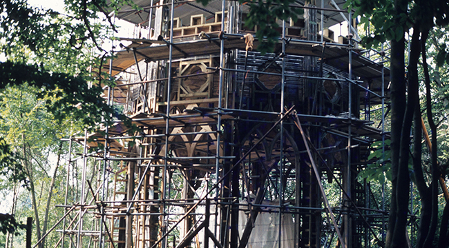 1985 The Gothic Temple restored timeline