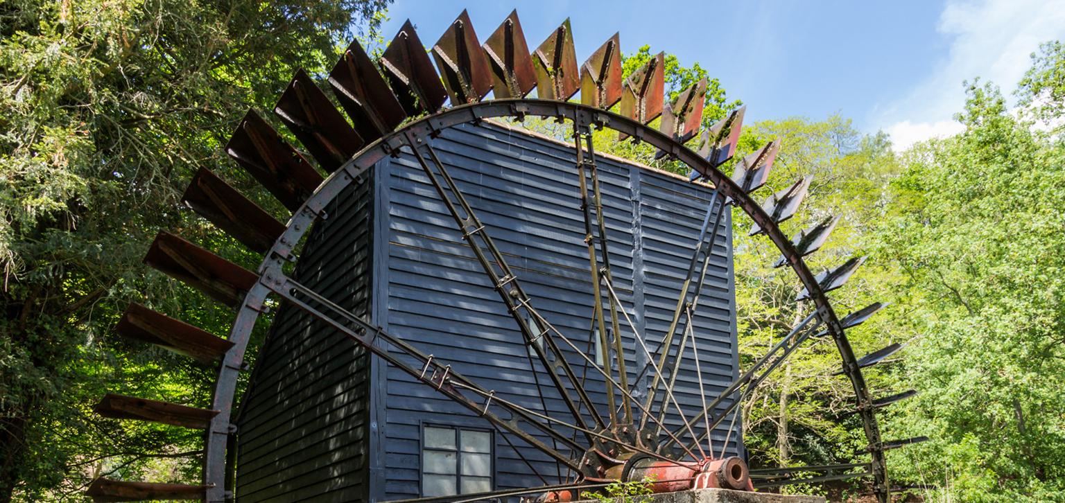 Watermill at Painshill
