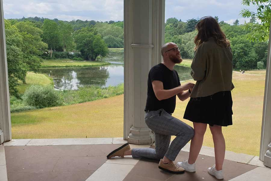 Pop the question at Painshill