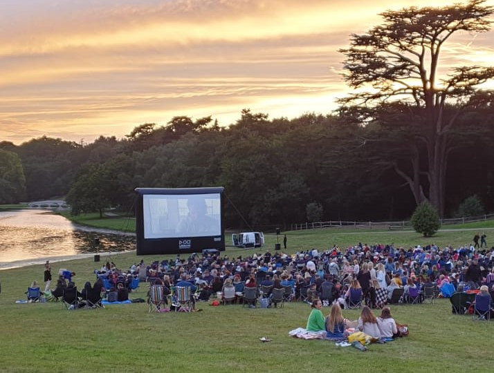 Open Air Cinema Painshill